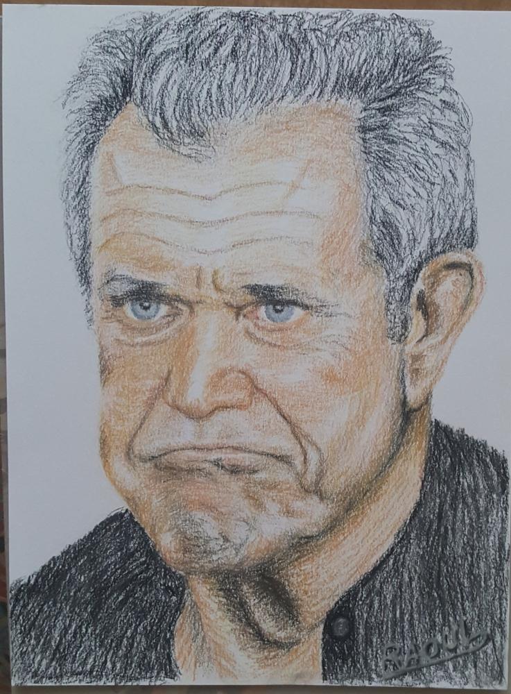 Mel Gibson por Raoul.G